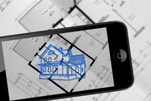 La Réalité Augmentée, Smartphone, Plan De Construction